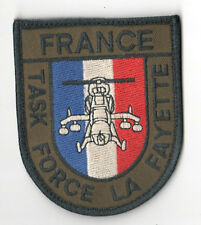 FRENCH FOREIGN LEGION SPECIAL FORCES VELCRO SUBDUED SSI: Task Force La Fayette