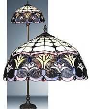 SPRING WEEDS TIFFANY STYLE HAND CRAFTED FLOOR LAMP