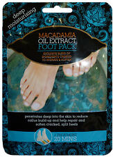 1 Treatment Deep Moisturising Foot Pack with Macadamia Oil Extract