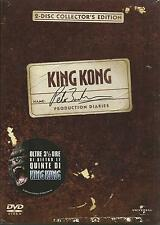 King Kong. Peter Jackson's Production Diaries (2005) 2 DVD