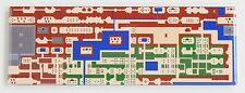 Legend of Zelda Overworld Map FRIDGE MAGNET (1.5 x 4.5 inches) video game nes