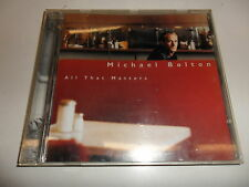 Cd  Michael Bolton  ‎– All That Matters