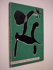 BERNANOS George: UNA NOTTE - DIALOGO D'OMBRE, Le Silerchie, Il Saggiaotre, 1959