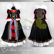 EE0215AD Alice: Madness Returns Queen of Hearts Cosplay Costume