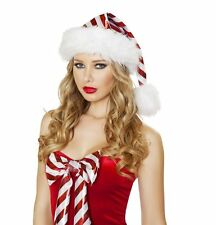 Candy Cane Santa Hat Candy Cane Hat Christmas Hat Roma C179 Holiday Hat