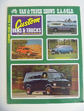 Custom Vans & Trucks No.2 Panel Van Holden Sandman Drifter Bedford Ford Transit