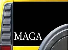 "MAGA L171 8"" vinyl sticker Trump decal Make America Great Again"