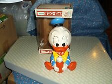 1986 Shelcore Hug-Ems Baby Donald  Light Squeek  Box Light Wear