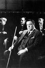 The Hustler 24X36 Photo Poster Print Jackie Gleason pool cue cast behind classic