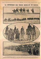 Officers British Army Camels Australia Artillery Bedouins Prisoners WWI 1916