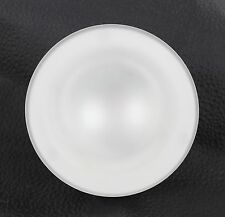 "Camper/RV ITC 81232-NS-DB 4.5"" Overhead Halogen Flush Mount Frosted Glass Light"