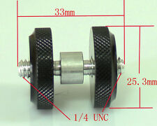"Pro Type 1/4 inch 1/4"" Male to 1/4"" Male Threaded screw Adapter for flash camera"