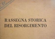 RASSEGNA STORICA DEL RISORGIMENTO Evangelici spedizione di Garibaldi Minghetti