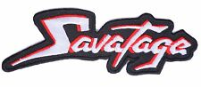 heavy metal patches iron on patch sew on patches music patch Savatage