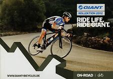 Katalog Fahrräder Giant Off On Road 2012 Prospekt Fahrrad Fahrradprospekt Rennra