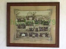 """506KB1 Altes Bild, Fotocollage: Gesangverein """"Harmonie"""" Hechtsheim 1906; Mainz"""