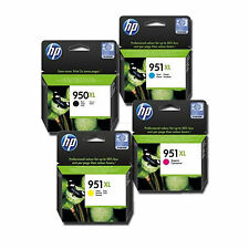 2018 RETAIL BOX Genuine HP 950XL Black & 951XL Colors Ink Officejet 8100
