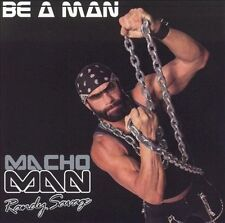 Macho Man Randy Savage - Be A Man - used cd