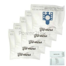 5x GN Vacuum Cleaner Bags for Miele Allervac Sensor 5000 series Automatic TT5000