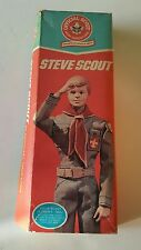 BSA Steve Scout Doll Boy Scout of America In Original Box 1974