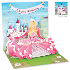 3D Greeting Card by Up With Paper - Princess #861