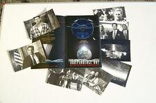 INDEPENDENCE DAY PRESSEMAPPE MIT CD-ROM UND 8 PRESSE-BILDERN WILL SMITH (k2)