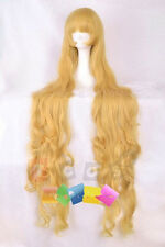 Pop GOSICK Victorique·De·Blois Cosplay Gold wig  150cm    RGRG