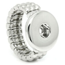 handmade DIY Elastic force ring fit chunk snap button size you change j3876