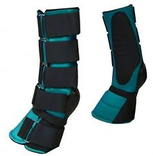 TEAL Adjustable Neoprene Combination Bell Boot! NEW HORSE TACK!