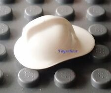 LEGO WHITE HELEMT for FIREMAN CITY HAT FIRE FIREFIGHTER FIREMEN MINIFIG new