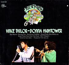 """VINCE TAYLOR-DONNA HIGHTOWER Hit Road 1974 (Vinile=M) LP 12"""" Import"""