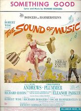 SOUND OF MUSIC 1964 Film Sheet Music I HAVE CONFIDENCE Julie Andrews