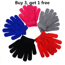 Children Magic Gloves & Mittens Girl Boy Kid Stretchy Knitted Winter Warm Gloves