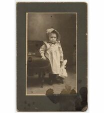 18 MONTH OLD GIRL RUTH M NECROELT BY KRUSE VINTAGE PHOTO