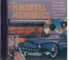 Immortal Memories the Drifters Bobby Lewis The Shirelles  Cd Sealed Sigillato