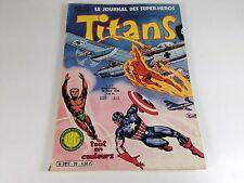 COMICS  EO REVUE TITANS  N° 25 1980 LUG