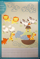 TIDDLIWINKS - Noah's Ark - NURSERY WALL STICKERS / DECALS