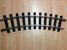 Bachmann 94501 G Scale 6 x Curved (4' Dia) Track Section (1/2 Circle) +Clips T48