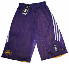 Adidas señores la lakers short smrrn Rev short nba lila blanco talla s nuevo @ 181