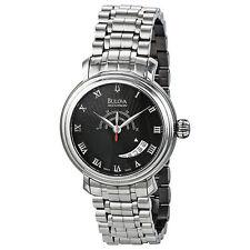 Swiss Made Bulova Accutron 63B024 Amerigo Automatic Stainless Steel Men's Watch