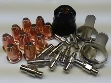 23pc Trafimet S45 Plasma Torch Set + Solid Standoffs, 95136, 97994, 91814 *USA*