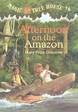 Magic Tree House #6: Afternoon on the Amazon (A Stepping Stone Book(TM-ExLibrary