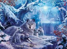 CEACO WOLVES JIGSAW PUZZLE WINTER WOLVES JAN PATRIK KRASNY 1000 PCS #3373-1