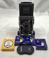 Mamiya C330F Professional Medium Format TLR Film Camera with 80 mm lens,EX+++++