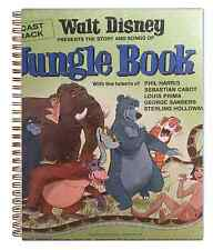 for the WALT DISNEY Jungle Book Lp fan 60s Album Cover Notebook vintage !! WOWEE