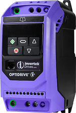 Invertek Motor Inverter 1 phase in 3 phase out  0.75kW ODE-3-120043-1F12