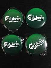 4 Carlsberg Beer Bottle Opener Magnets Brand New!!