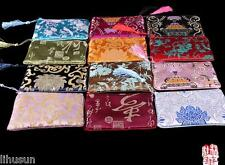 Wholesale10pcs Chinese Hot Handmade Silk Brocade Purse/Wallet/Clutch Bag