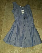 Burberry Children Girls Jean Dress 6Y NWT mspr $215