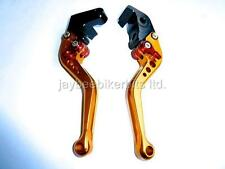 YAMAHA R1 2004 2008 R6 2005 2015  BRAKE  CLUTCH LEVERS SET GOLD  RACE TRACK TS60